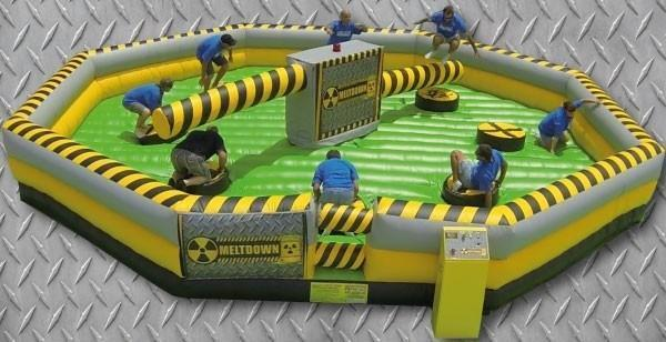 Meltdown inflatable ride