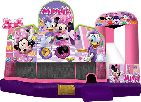 Minnie Mouse 5in1 Inflatable Bounce House Combo
