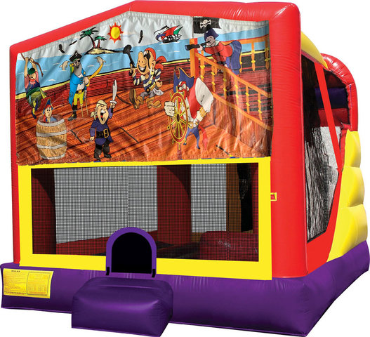 Pirates 4in1 Inflatable Bounce House Combo