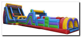 20 ft. Vertical rush with 40 ft. obstacle course