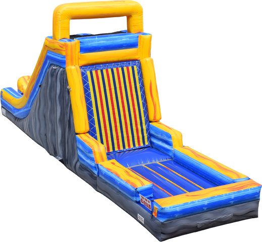 Velcro Wall with dry slide Interactive