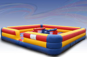 Inflatable-Joust Interactive (4 person)