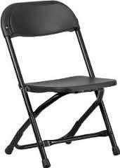 Chair rental kids black