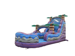 18 Ft. Purple Plunge Water Slide