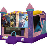 Monsters Inc. 4in1 combo bouncer pink