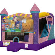 Bubble Guppies 4in1 Combo Bouncer Pink
