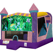 Bugs Life 4in1 Combo Bouncer Pink