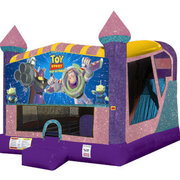 Buzz Lightyear 4in1 Combo Bouncer Pink