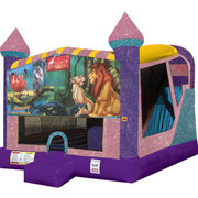 Lion King 4in1 combo bouncer pink