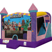 Minecraft 4in1 Combo Bouncer Pink