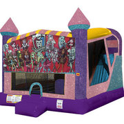 Monster High 4in1 Combo Bouncer Pink