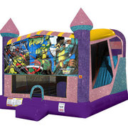 Ninja turtles 4in1 combo bouncer pink