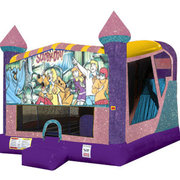 Scooby Doo 4in1 Combo Bouncer Pink