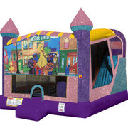 Sesame Street 4in1 Combo Bouncer Pink