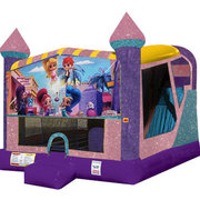 Shimmer and Shine 4in1 Combo Bouncer Pink