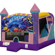 Under the Sea 4in1 Combo Bouncer Pink