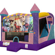Toy Story 4in1 Combo Bouncer Pink