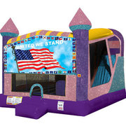 Patriotic 4in1 Combo Bouncer Pink