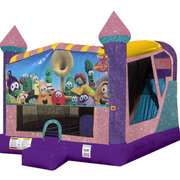 Veggie Tales 4in1 Combo Bouncer Pink