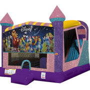 World of Disney 4in1 Combo Bouncer Pink
