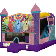 Yo Gabba Gabba 4in1 Combo Bouncer Pink
