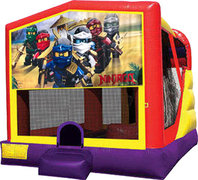 Lego Ninjago 4in1 Inflatable bounce house combo