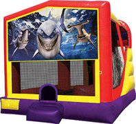 Shark 4in1 Bounce House Combo