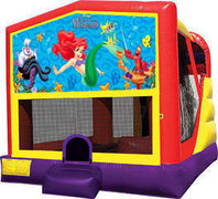 Little Mermaid 4in1 Bounce House Combo