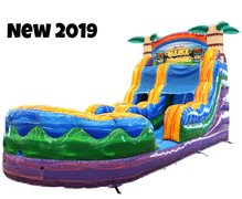 16 Ft. Tiki Plunge Water Slide