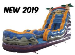 18 Ft. Tiki Plunge Water Slide