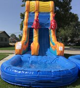 22 Ft. Big Kahuna Water Slide with Pool