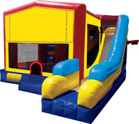 A Inflatable Combos 7in1s Bounce House