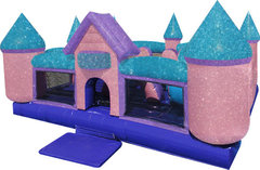 Dazzling Dream Castle Toddler bouncer