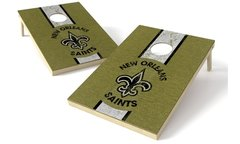 New Orleans Saints cornhole