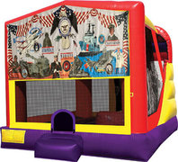 Armed Forces 4in1 Bounce House Combo