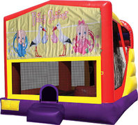 Baby Shower 4in1 Bounce House Combo