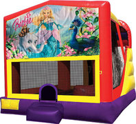 Barbie 4in1 Inflatable Bounce House Combo