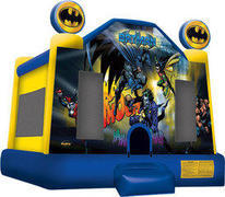 A Batman Bounce House rental