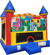 Blues Clues Inflatable bounce house with Basketball Goal