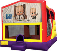Boss Baby 4in1 Bounce House Combo