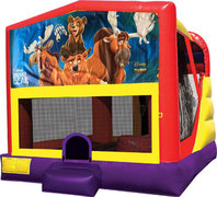Brother Bear 4in1 Bounce House Combo