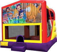 Bubble Guppies 4in1 Bounce House Combo