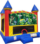 Bugs Life Inflatable bounce house with Basketball Goal