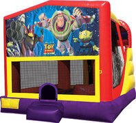 Buzz Lightyear 4in1 Bounce House Combo