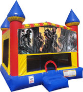 Call of Duty Inflatable bounce house with Basketball Goal