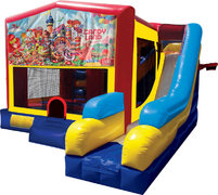 Candyland Inflatable Combo 7in1