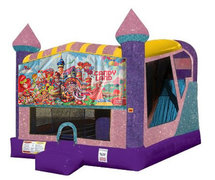 Candyland 4in1 Combo Bouncer Pink