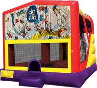 Cat in the Hat 4in1 Bounce House Combo