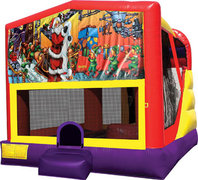 Christmas 4in1 Bounce House Combo