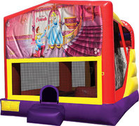 Cinderella 4in1 Bounce House Combo